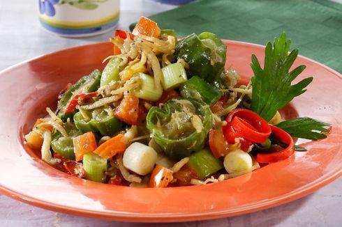 Resep Tumis Oyong Teri, Makan Siang Praktis dan Enak
