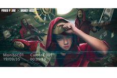 Kolaborasi dengan Serial Netflix Money Heist, Free Fire Hadirkan Mode Game dan Kostum Baru
