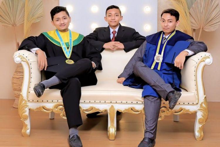 Ainun Albarr Qolby Mecca resmi menjadi mahasiswa termuda Fakultas Kedokteran tahun 2021/2022.