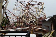 Pemancar RRI di Kebayoran Baru yang Roboh Timpa 3 Rumah dan 1 Masjid