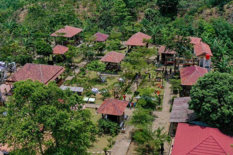 Desa Wisata Rigis Jaya di Kabupaten Lampung Barat, Lampung.