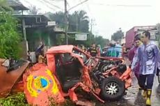 Mobil BPBD Lombok Timur Kecelakaan, Seorang Anggota Tewas, 2 Kritis