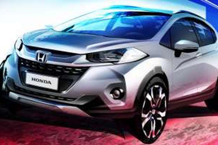 Honda WR-V yang akan diperkenalkan pertama kali di Brazil.