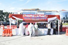 HUT Bhayangkara, 300 Wajib Pajak di Samsat Jabar Ikuti Rapid Tes Drive Thru