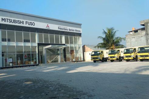 Mitsubishi Fuso Buka Diler Baru di Pekanbaru