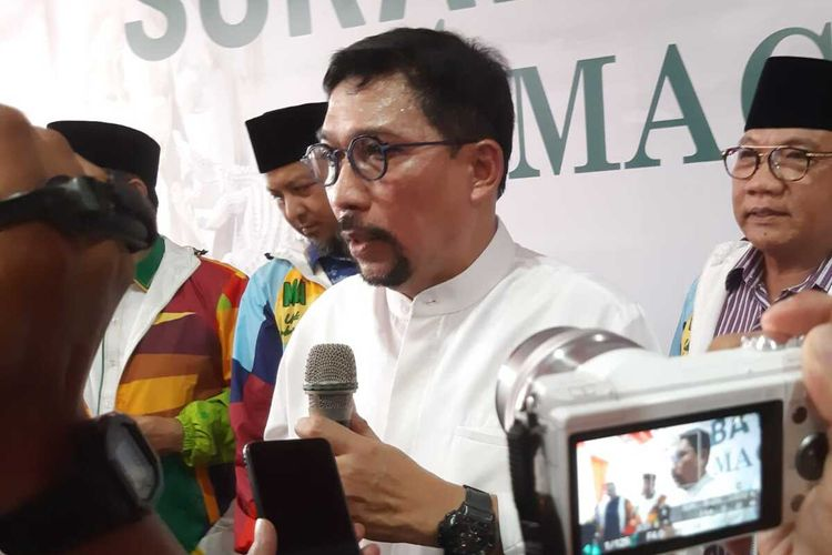 Mantan Kapolda Jatim yang juga calon kontestan Pilkada Surabaya 2020, Machfud Arifin.