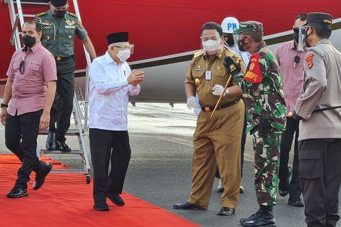 Puji Vaksinasi Covid-19 di Lampung, Wapres Harap Ada Percepatan