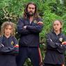 Jason Momoa Jaga Kebugaran Tubuh dengan Jadi Pelatih Gym Dua Anaknya