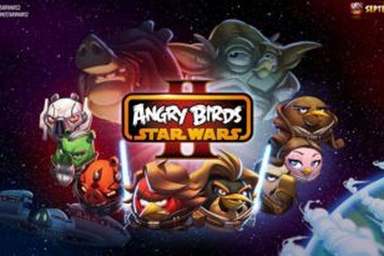 Angry Birds Star Wars II bisa mulai diunduh pada 19 September 2013
