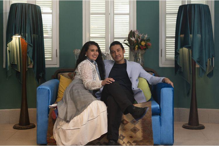Pasangan suami istri sekaligus founder organisasi The Light, Ali Khan dan Sofia Khan.