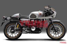 Ganteng, Rendering Honda GB350 Cafe Racer