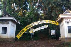 Usai Gempa Lombok, Pendakian ke Gunung Rinjani Ditutup Sementara
