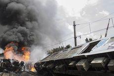 Polri: KRL Tabrak Truk Tangki, Korban Tewas 10 Orang