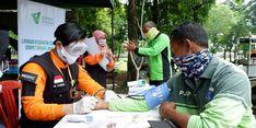 TPU Pondok Ranggon Jadi Permakaman Pasien Covid-19, Dompet Dhuafa Gelar Tes Kesehatan untuk Penggali Kuburnya