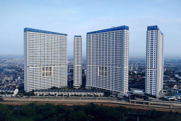 Penginapan Harris Suites Puri Mansion di Jakarta Barat.