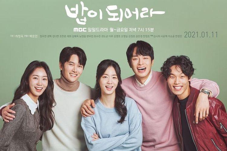 Poster drama Korea Be a Meal atau A Good Supper