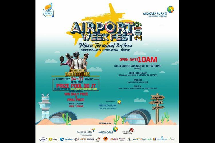 Pamflet Airport Week Fest 2019