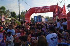 2.000 Peserta Meriahkan Borobudur Fun Run di Candi Pawon