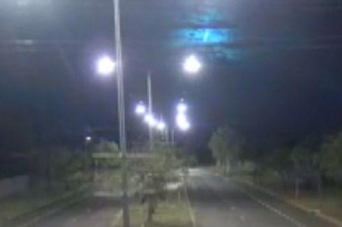 Lintasan Meteor Terlihat di Kamera CCTV Polisi Australia