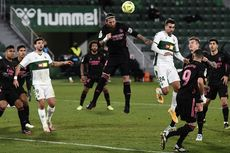 Elche Vs Real Madrid, Los Blancos Tutup 2020 dengan Hasil Minor