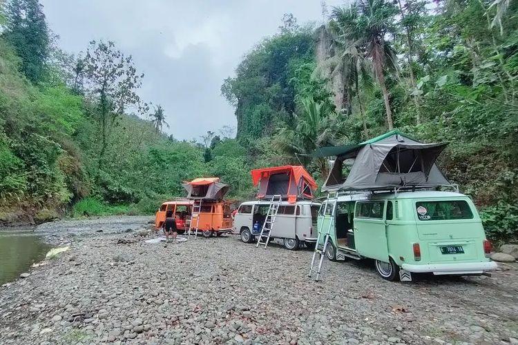 Saptawara Campervan, Yogyakarta DOK. Instagram.com/saptawara.campervan