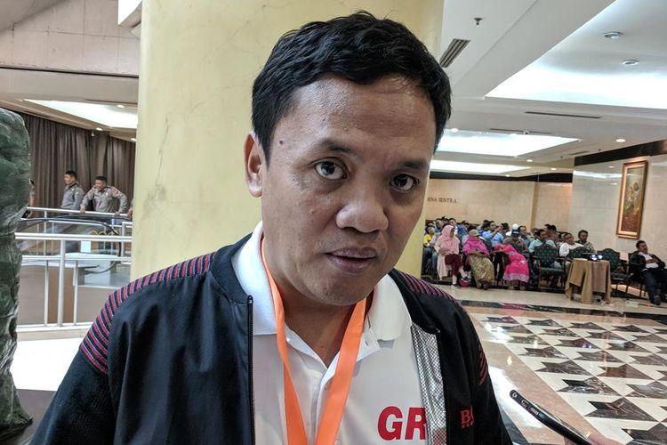 Habiburokhman Memberi Keterangan di Hotel Bidakara, Pancoran, Jakarta Selatan