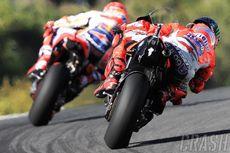 Kejutan Lorenzo untuk Marquez di Lap Terakhir