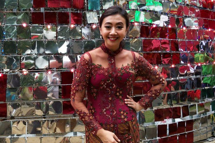 Asri Welas ditemui di Central Park, Grogol, Jakarta Barat, Minggu (10/12/2017).