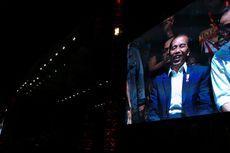 Presiden Jokowi Beri Kejutan Penonton Konser Musik Untuk Republik