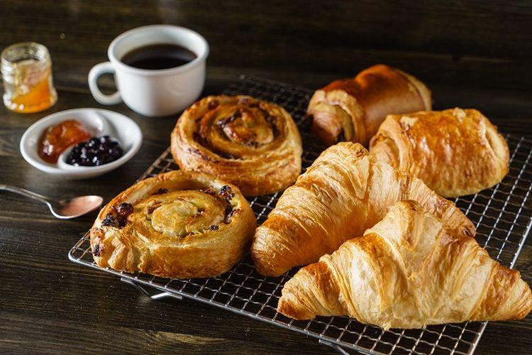 Ilustrasi French pastries.