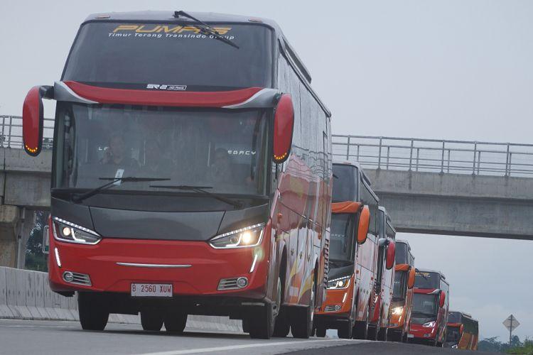 Bus Baru Putera Mulya Sejahtera