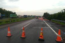 Usai Diperbaiki, Ruas Km 122 Tol Cipali Kembali Dibuka Normal