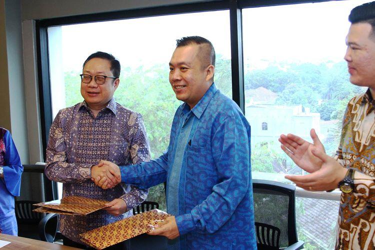 Kota Medan dipilih PT Bareksa Prioritas Indonesia sebagai lokasi kantor cabang pertama di luar Pulau Jawa, Selasa (12/3/2019)