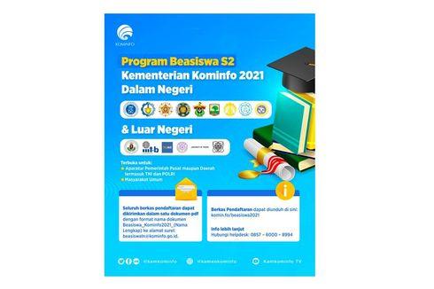 Dibuka, Program Beasiswa S2 Kementerian Kominfo, Ini Informasinya!