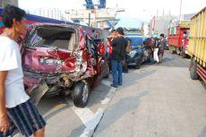11 Kendaraan Terlibat Kecelakaan Beruntun di Bogor, Dua Luka Berat