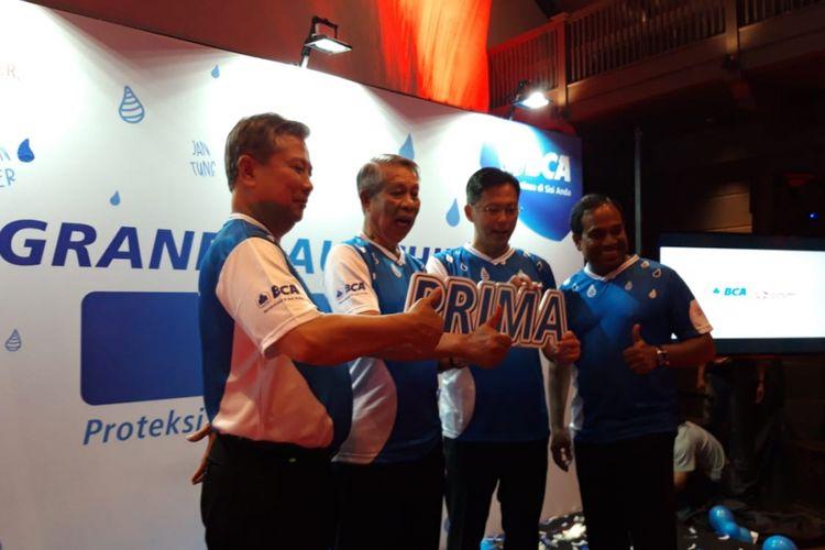 Suasana peluncuran BCA Prima di Jakarta, Kamis (11/10/2018).