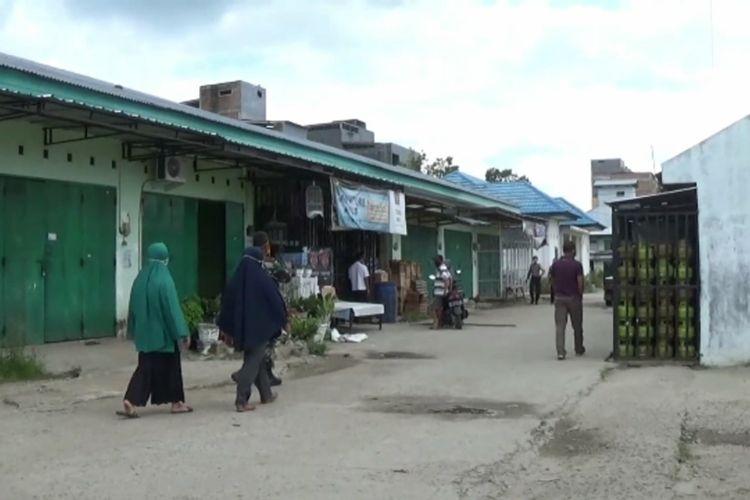 Tim Covid Sisir Pasar Wonomulyo, Pedagang Reaktif Covid, Kabur dari Toko dan Rumahnya