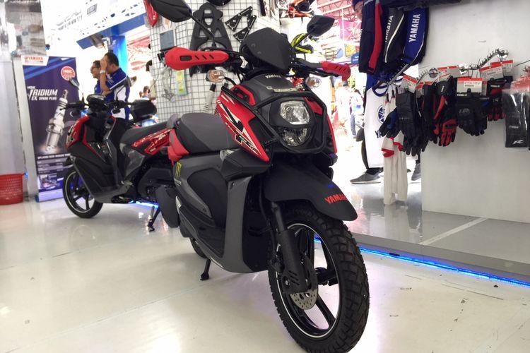 Yamaha X-Ride Generasi Terbaru yang sudah dilengkapi aksesori