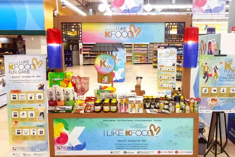 Rak I Like K Food dari Korea Food Industry Association.