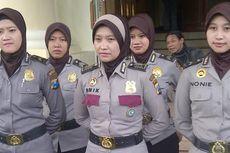 Polwan Polrestabes Surabaya Mulai Berjilbab