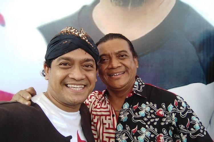 Bambang Surono foto bersama maestro campursari Didi Kempot.