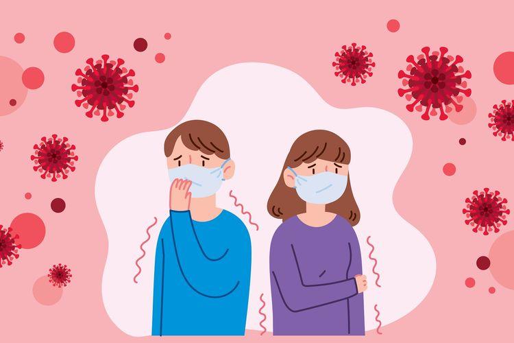 Ilustrasi pencegahan wabah virus corona