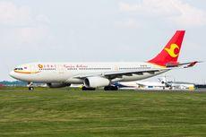 Penumpang Lempar Koin ke Mesin Pesawat, Penerbangan Ditunda