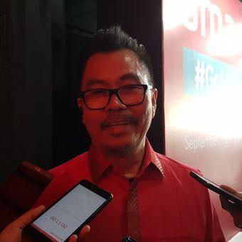 Deputy CEO Smartfren, Djoko Tata Ibrahim, Selasa (18/9/2018), usai peluncuran paket baru Smartfren di SCBD, Jakarta.