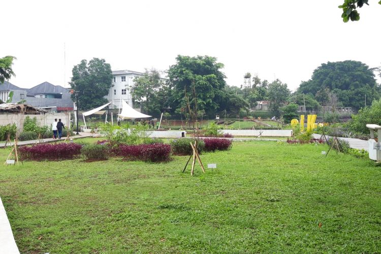 Taman Piknik, taman baru di area Jakarta Timur, Senin (14/1/2019)