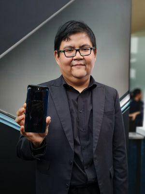 PR Mananger Oppo Indonesia Aryo Meidianto.