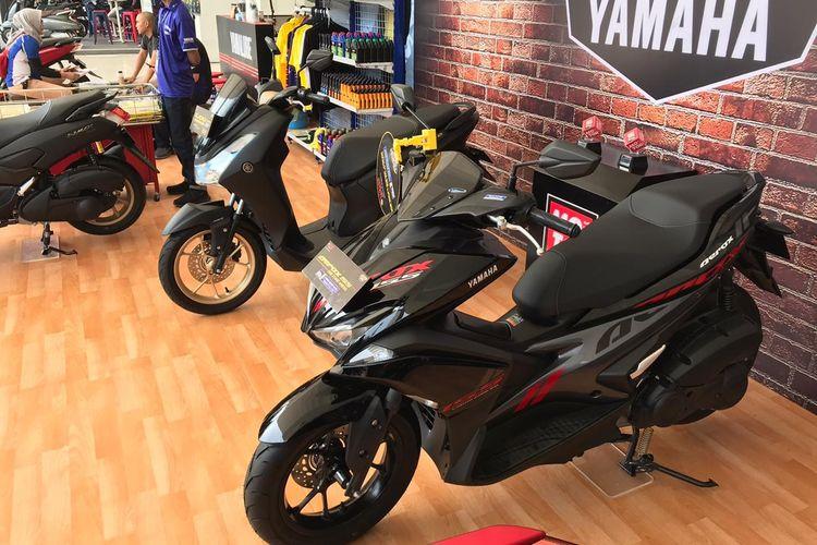 Lexi dan Aerox juga termasuk dalam jajaran Maxi Yamaha