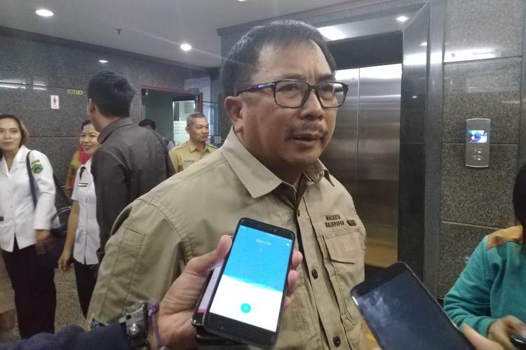 Wali Kota Balikpapan Rizal Effendi saat dijumpai di Kantor Gubernur Kaltim, Samarinda, Selasa (15/10/2019).
