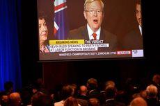 Kevin Rudd Ucapkan Selamat pada Tony Abbott