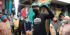 Ganjar Kecewa Pasar Mangkang Semarang Tidak Terapkan Protokol Kesehatan